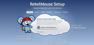 RebelMouse Facebook Anmeldung