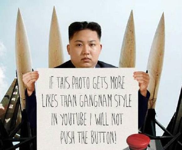Imagepflege mit einem adipösen Diktator?