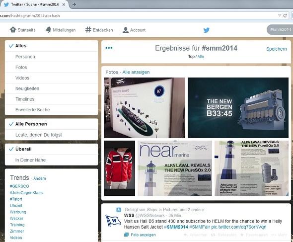 Drei von vier Bilder stammen von Twitter-Account @PR_Hamburg - also von unserer Agentur
